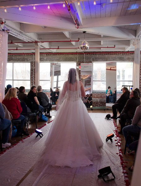 Bridal Fair Fashion Show Photo