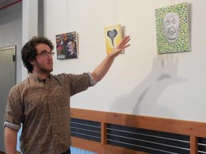 Artist Lance Rautzhan