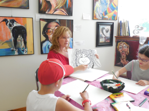 WIAC Summer Art Camp Drawing Class